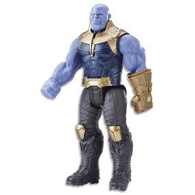 Boneco Thanos 30cm Vingadores Guerra Infinita Hasbro E0572