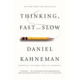 Libro Thinking Fast And Slow, Daniel Kahneman, Dhl
