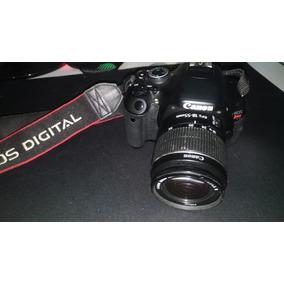 Camera Canon T3i + Lente 18-55mm + Duas Baterias + Cartão