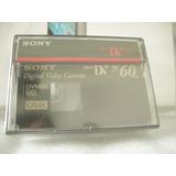 Video Cassettes Digital Sony Mini Dv 60min