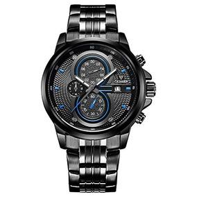6242e67b257f Toywatch Ceramica Chrono Negro Oro Amarillo - Relojes en Mercado ...