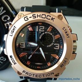 53b75040545 Relogio Ewc Masculino Dourado Lancamento - Joias e Relógios no ...