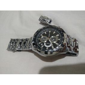 Relógio Masculino Modelo 8023 Aço Inox Curren