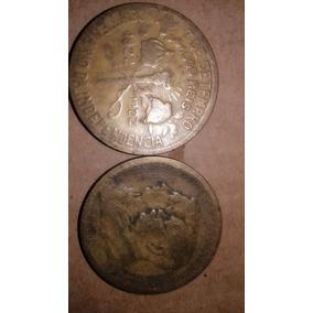 Moedas De 1000 Réis,antiga1822 1922