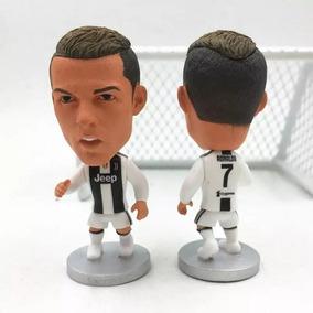 Mini Craque Cr7 Cristiano Ronaldo Com Camisa Juventus