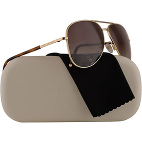 Marc Jacobs Gafas De Sol 60 s De Oro Polarizado Color Marron 0fdb72974d