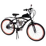Bicicleta Motorizada Kit Motor 2 Tempos 80cc Emotorbike