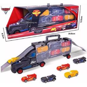 Carros 3 Caminhão Jackson Storm + 6 Carrinhos Carros