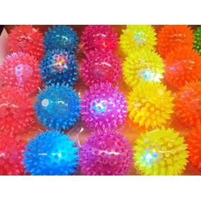 12 Pelotas Picos Suave Luminosa Juguete Piñata Fiesta Cumple