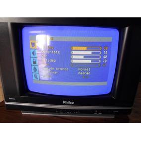 Tv Tubo Philco Ph 14e 14 Polegadas Colorida Barato