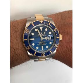f1ea6e3b15c Microagulhamento De Ouro Luxo Rolex Masculino - Relógio Masculino no ...