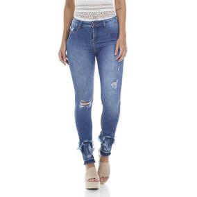 Calça Jeans Denim Zero - Calças Jeans Feminino no Mercado Livre Brasil 1f86e444941fd