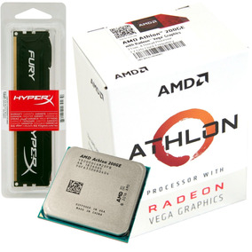 Kit Upgrade Athlon 200ge + Memoria Hyperx Ddr4 4gb