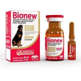 Bionew Vetnil Para Cães E Gatos 20ml - Janeiro 2019