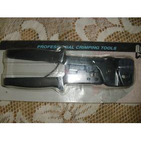 Crimpeadora Crimp Tool Rj11 Rj45 Modelo : Te-141