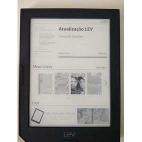 E-reader Lev Neo Com Capa Oficial (luz Embutida)