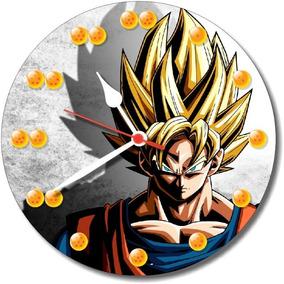 c53a3709d0a Relógio Parede Dragon Ball Goku Desenho Animado Esferas 30cm