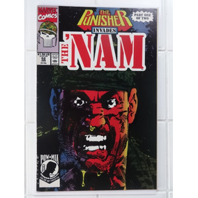 The Nam Nº 52 E 53 - The Punisher Invades The Nam - 1991