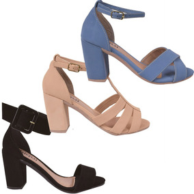2c39a16d6a Tamanco Salto Anabela Cortica Azaleia - Sapatos para Feminino no ...