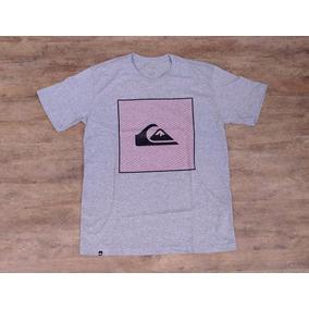 Camisetas Quiksilver - Calçados, Roupas e Bolsas no Mercado Livre Brasil c6eb191ff1