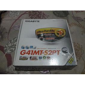 Tarjeta Madre Socket 775 Gigabyte G41mt-s2pt