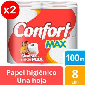 Papel Higienico Confort Max 100mts Pack X2 Tienda Oficial