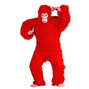 Disfraz De Gorila Chango Rojo Para Adultos Envio Gratis 1 9b1b66ce758