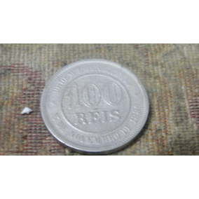 Moeda 100 Reis 1900 Rara Soberba