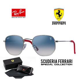 163710d6d0b2c Ray Ban Hexagonal 3548 Ferrari Envio 24h Original + Brinde