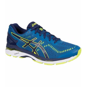 Tenis Asics Gel Kayano 23 Thunder Blue/safety Yellow
