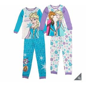 Pijama Para Niña De Ana Y Elsa