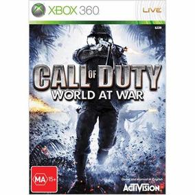 Call Of Duty World At War - Xbox 360 - Usado