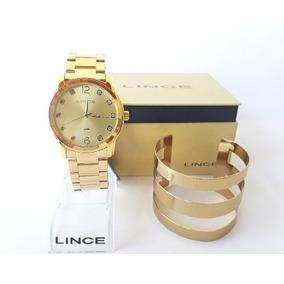 e389fed4927 Relogio Feminino Dourado Lince - Relógio Feminino em Espírito Santo ...
