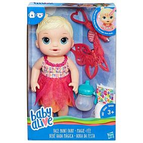Baby Alive Hora Festa Loira Boneca + Acessórios Hasbro B9723