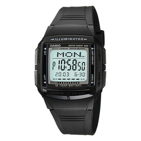 Relógio Casio Original Masculino Data Bank Db-36-1avdf