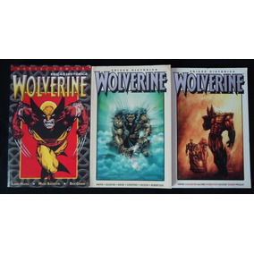 Wolverine - Edição Histórica /mythos Completa /já Com Envio