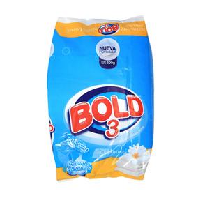 Detergente En Polvo Bold 3 Flores Para Mis Amores 500 Gr