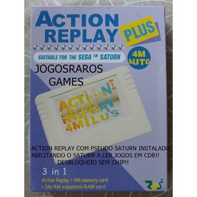 Pseudo Saturn + Action Replay!! Desbloqueia Sem Usar Chip!!