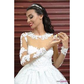 Vestido De Noiva ( Usado Uma Vez)