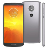 Motorola Moto E5 Xt1944-4 16gb Platinum Dual Tela5.7 Vitrine