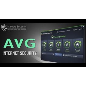 Avg Internet Security 2018 + Avg Tuneup 1 Pc 3 Años