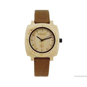 Reloj De Mujer Bewell De Madera Zs-w098b