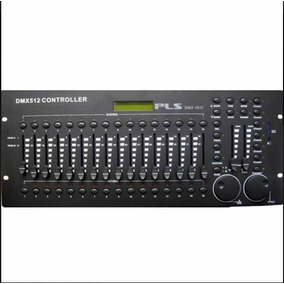 Iluminacion Consola Pls Dmx 1632 (512 Canales + Sd Card)