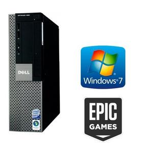Pc Cpu Intel Doble Nucleo 2 Gb Ram Dvd Juegos + Programas