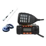 Rádio Móvel Dual Band Veiculo 25w Vhf / Uhf + Antena N