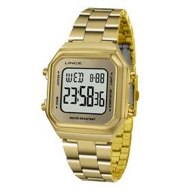 4ca481dd20f Relogio Feminino Dourado Guess Quadrado Lince - Relógios De Pulso no ...