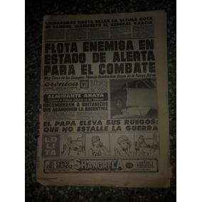 Diario Cronica Sobre La Guerra De Malvinas