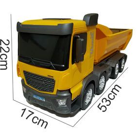 2 Caminhões Brinquedo Caçamba Grande Meninos Infantil 3 Anos