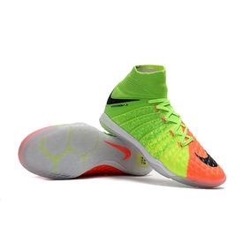 Chuteira Nike Botinha Verde Futsal - Chuteiras no Mercado Livre Brasil 1dc1bb529aa6b