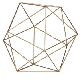 Figura Decorativa Modelo Esfera Decaedro
